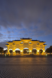 Freedom Square Memorial Arch  Chiang Kaishek Memorial Grounds  Taipei  Taiwan  Asia
