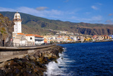 City of Candelaria in the Eastern Part of the Island of Tenerife  Canary Islands  Spain  Europe