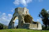 Benedictine San Bruzio Monastery Ruins  Magliano in Toscana  Tuscany  Italy  Europe