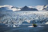 Zodiac Boat Tour on Jokulsarlon Glacier Lagoon  Polar Regions