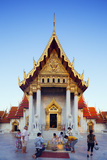 South East Asia  Thailand  Bangkok  the Marble Temple  Wat Benchamabophit