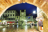 Clock Tower  Kotor  UNESCO World Heritage Site  Montenegro  Europe