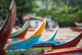 Traditional Fishing Boat in Sungai Pinang  Sumatra  Indonesia  Southeast Asia