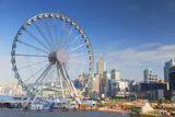 Ferris Wheel  Central  Hong Kong Island  Hong Kong  China  Asia