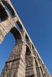 Segovia's Ancient Roman Aqueduct  Segovia  Castilla Y Leon  Spain  Europe