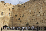 Men's Section  Western (Wailing) Wall  Temple Mount  Old City  Jerusalem  Middle East