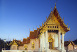 Wat Benchamabophit (The Marble Temple)  Bangkok  Thailand  Southeast Asia  Asia