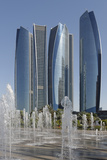 Etihad Towers  Abu Dhabi  United Arab Emirates  Middle East