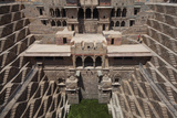 Chand Baori Step Well at Abhaneri  Rajasthan  India  Asia