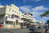 Historical Seafront  Hamilton  Bermuda