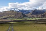 Mungrisedale Valley Below Saddleback [Blencathra]  Lake District National Park  Cumbria  England
