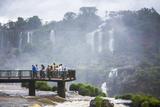 Iguazu Falls (Iguacu Falls) (Cataratas Del Iguazu)  Border of Brazil Argentina and Paraguay