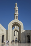 Sultan Qaboos Mosque  Muscat  Oman  Middle East