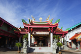 Chinese Temple  Phuket  Thailand  Southeast Asia  Asia
