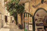 Street Scene  Old City  Jerusalem  UNESCO World Heritage Site  Israel  Middle East