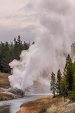 Riverside Geyser  Upper Geyser Basin Yellowstone National Park  Wyoming  United States of America