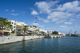 Historical Seafront of Hamilton Capital Of  Bermuda  United Kingdom