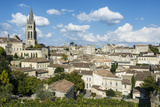 View over the UNESCO World Heritage Site  St Emilion  Gironde  Aquitaine  France  Europe
