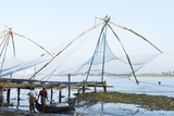 Chinese Nets at Dawn  Fort Kochi (Cochin)  Kerala  India  South Asia