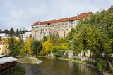Krumlov Castle and the Vltava River  Cesky Krumlov  Czech Republic  Europe