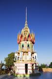 Wat Tham Sua Temple  Kanchanaburi  Thailand  Southeast Asia  Asia
