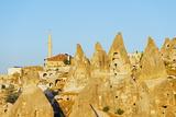 Rock-Cut Topography at Uchisar  Cappadocia  Anatolia  Turkey  Asia Minor