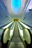 Toledo Art Station of Naples Metro  Naples  Campania  Italy  Europe