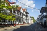 Colonial Wooden Buildings  UNESCO World Heritage Site  Paramaribo  Surinam  South America