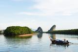 Mangrove Forest on Krabi Estuary  Krabi  Thailand  Southeast Asia  Asia