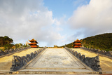 Thien Vien Truc Lam Ho Temple  Phu Quoc Island  Vietnam  Indochina  Southeast Asia  Asia