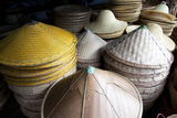 Burmese Hats Hand Made from Bamboo Leaves and Grasses  Myanmar (Burma)