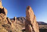 Los Roques De Garcia at Caldera De Las Canadas  National Park Teide  Canary Islands