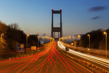 The First (Old) Severn Bridge  Avon  England  United Kingdom  Europe