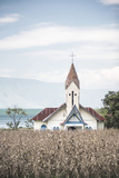 Church at Lake Toba (Danau Toba)  North Sumatra  Indonesia  Southeast Asia  Asia