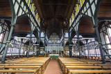 Interior of the St George's Cathedral  Georgetown  Guyana