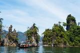 Ratchaprapa Reservoir  Khao Sok National Park  Surat Thani Province  Thailand  Southeast Asia  Asia