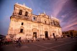 Basilica Catedral De La Asuncion  Leon  Nicaragua  Central America