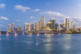 Downtown Miami Skyline  Miami  Florida  United States of America  North America