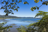 View from Tambor across Ballena Bay Towards Pochote on Southern Tip of Nicoya Peninsula  Costa Rica