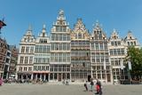 Grote Markt Guildhalls  Antwerp  Belgium  Europe