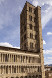 The Church of Santa Maria Della Pieve  Arezzo  Tuscany  Italy  Europe