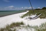 White Sand Beach and Sand Dunes  Skanor Falsterbo  Falsterbo Peninsula  Skane  South Sweden  Sweden