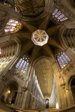 Ely Cathedral Interior  Lantern and Nave  Ely  Cambridgeshire  England  United Kingdom  Europe
