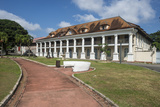 Colonial Quarter of Cayenne  French Guiana  Department of France  South America