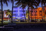 Art Deco District  Ocean Drive  South Beach  Miami Beach  Miami  Florida  United States of America