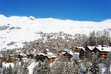 Verbier Ski Resort  Valais  Swiss Alps  Switzerland  Europe