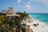 El Castillo at Tulum  Yucatan  Mexico  North America