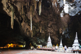 Buddha Statues  Khao Luang Cave  Petburi City  Petchaburi  Thailand  Southeast Asia  Asia