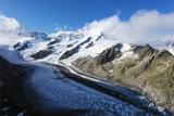 Gletscher Glacier Above Grindelwald  Interlaken  Bernese Oberland  Switzerland  Europe