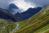 Mountain Scenery in the Unterengadin  Engadine  Graubunden  Switzerland  Europe